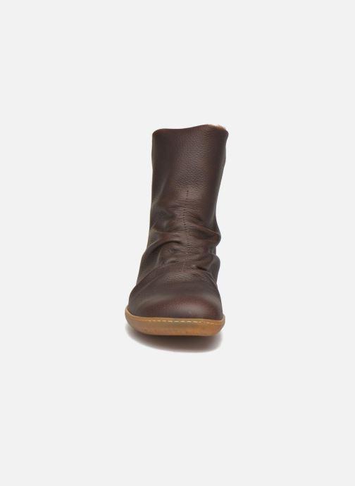Boots en enkellaarsjes El Naturalista El Viajero NE13 Bruin model