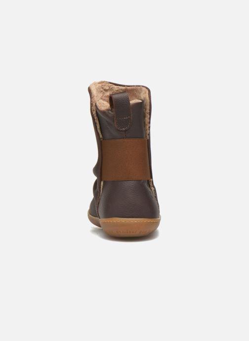 Boots en enkellaarsjes El Naturalista El Viajero NE13 Bruin rechts