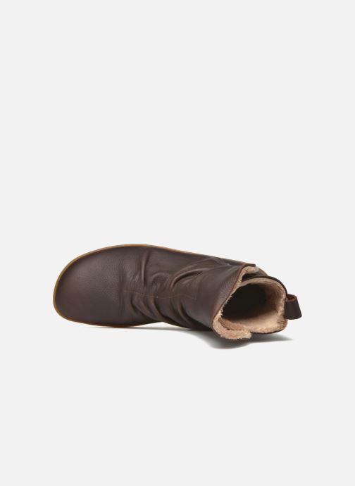 Boots en enkellaarsjes El Naturalista El Viajero NE13 Bruin links