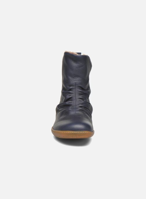 Bottines et boots El Naturalista El Viajero NE13 Bleu vue portées chaussures