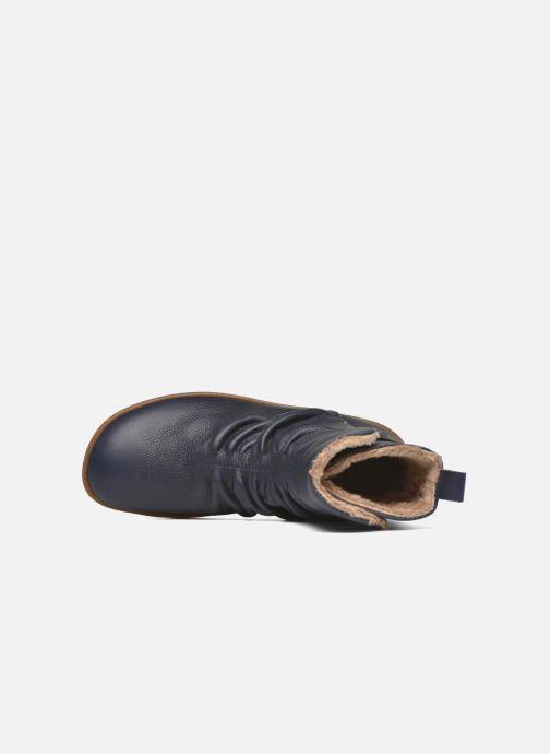 Bottines et boots El Naturalista El Viajero NE13 Bleu vue gauche