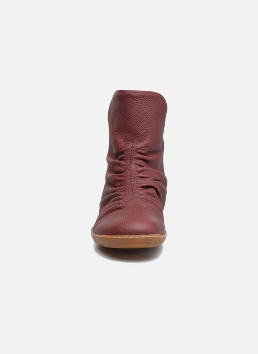 Ankle boots El Naturalista El Viajero NE13 Burgundy model view