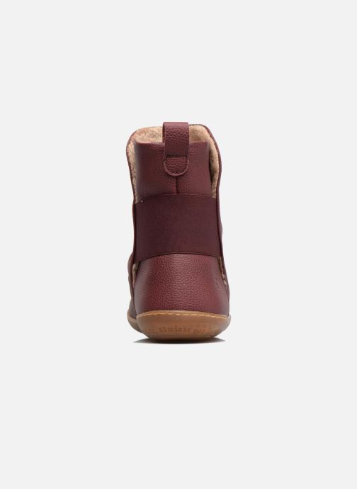 Ankle boots El Naturalista El Viajero NE13 Burgundy view from the right