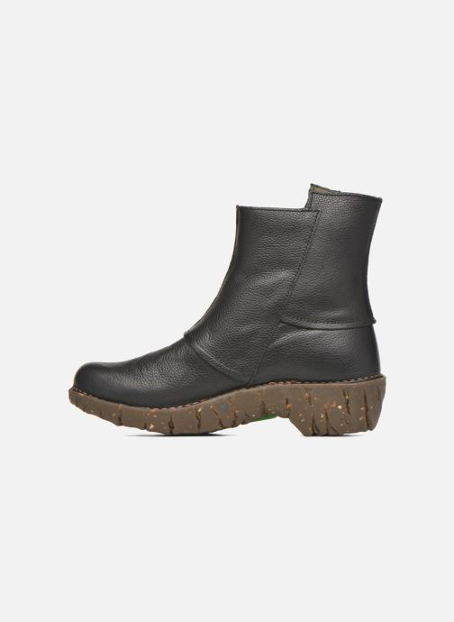 Ankle boots El Naturalista Yggdrasil NE28 Black front view