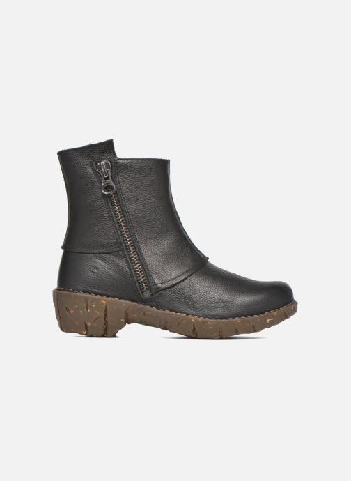 Ankle boots El Naturalista Yggdrasil NE28 Black back view