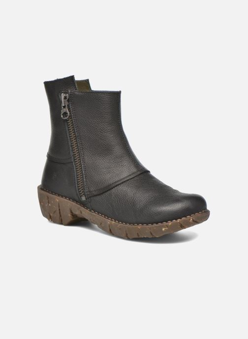 Ankle boots El Naturalista Yggdrasil NE28 Black detailed view/ Pair view