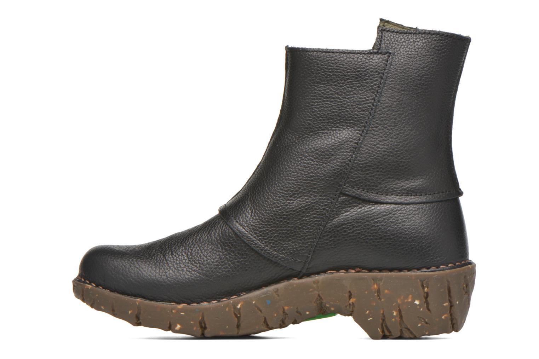 Bottines et boots El Naturalista Yggdrasil NE28 Noir vue face