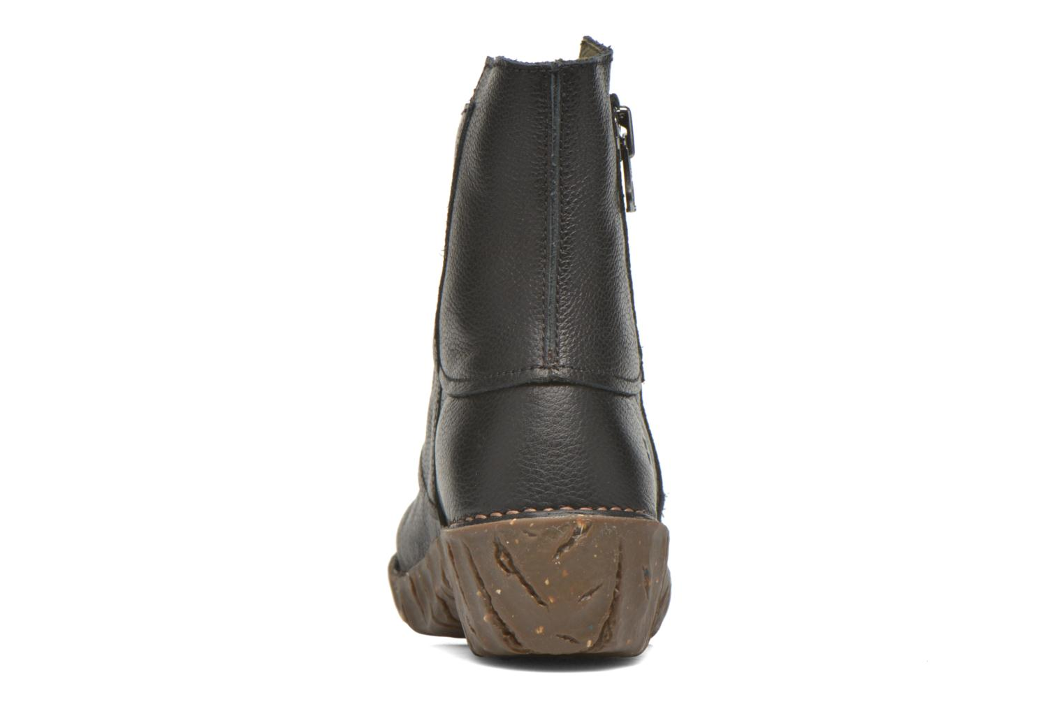 Ankle boots El Naturalista Yggdrasil NE28 Black view from the right