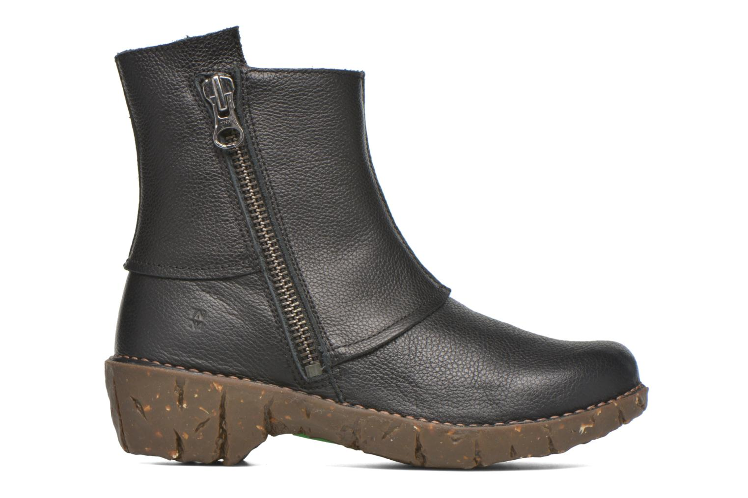 Ankle boots El Naturalista Yggdrasil NE28 Black back view