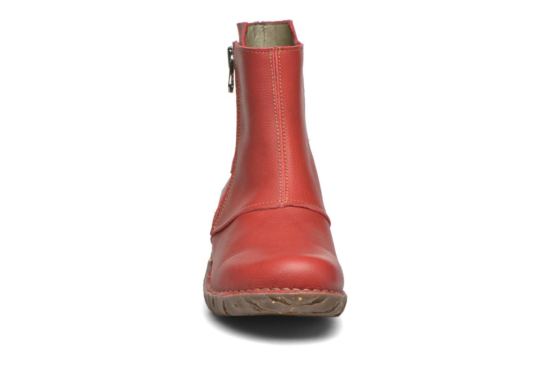 Bottines et boots El Naturalista Yggdrasil NE28 Rouge vue portées chaussures