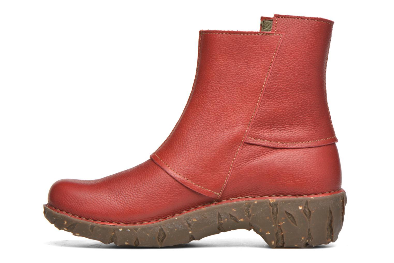 Bottines et boots El Naturalista Yggdrasil NE28 Rouge vue face