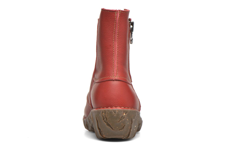 Bottines et boots El Naturalista Yggdrasil NE28 Rouge vue droite