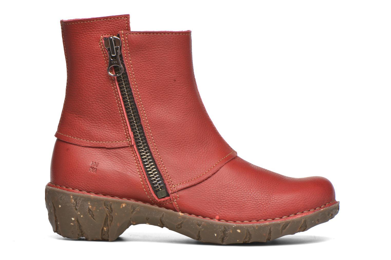 Bottines et boots El Naturalista Yggdrasil NE28 Rouge vue derrière