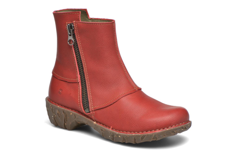 Bottines et boots El Naturalista Yggdrasil NE28 Rouge vue détail/paire