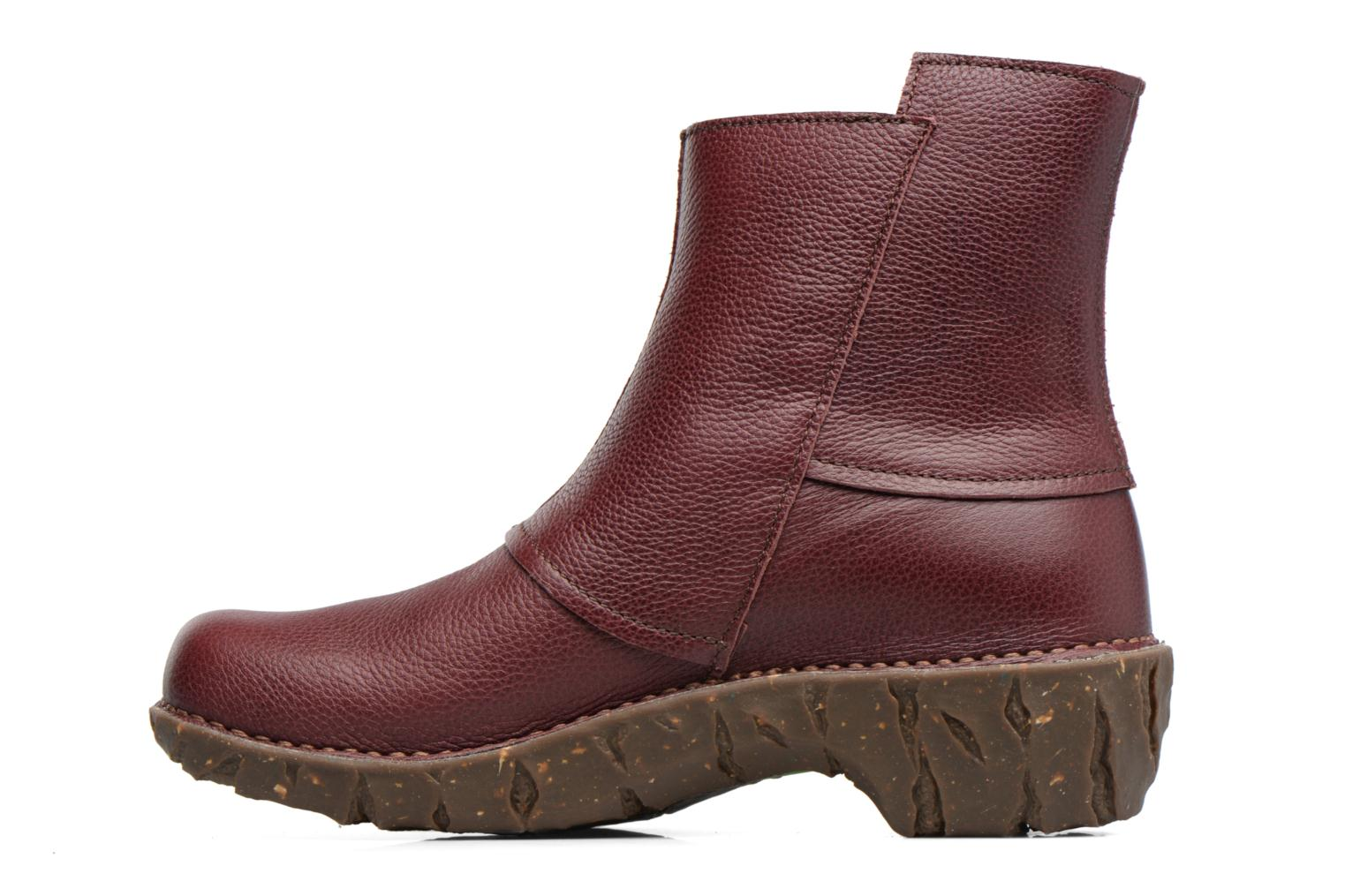 Ankle boots El Naturalista Yggdrasil NE28 Burgundy front view