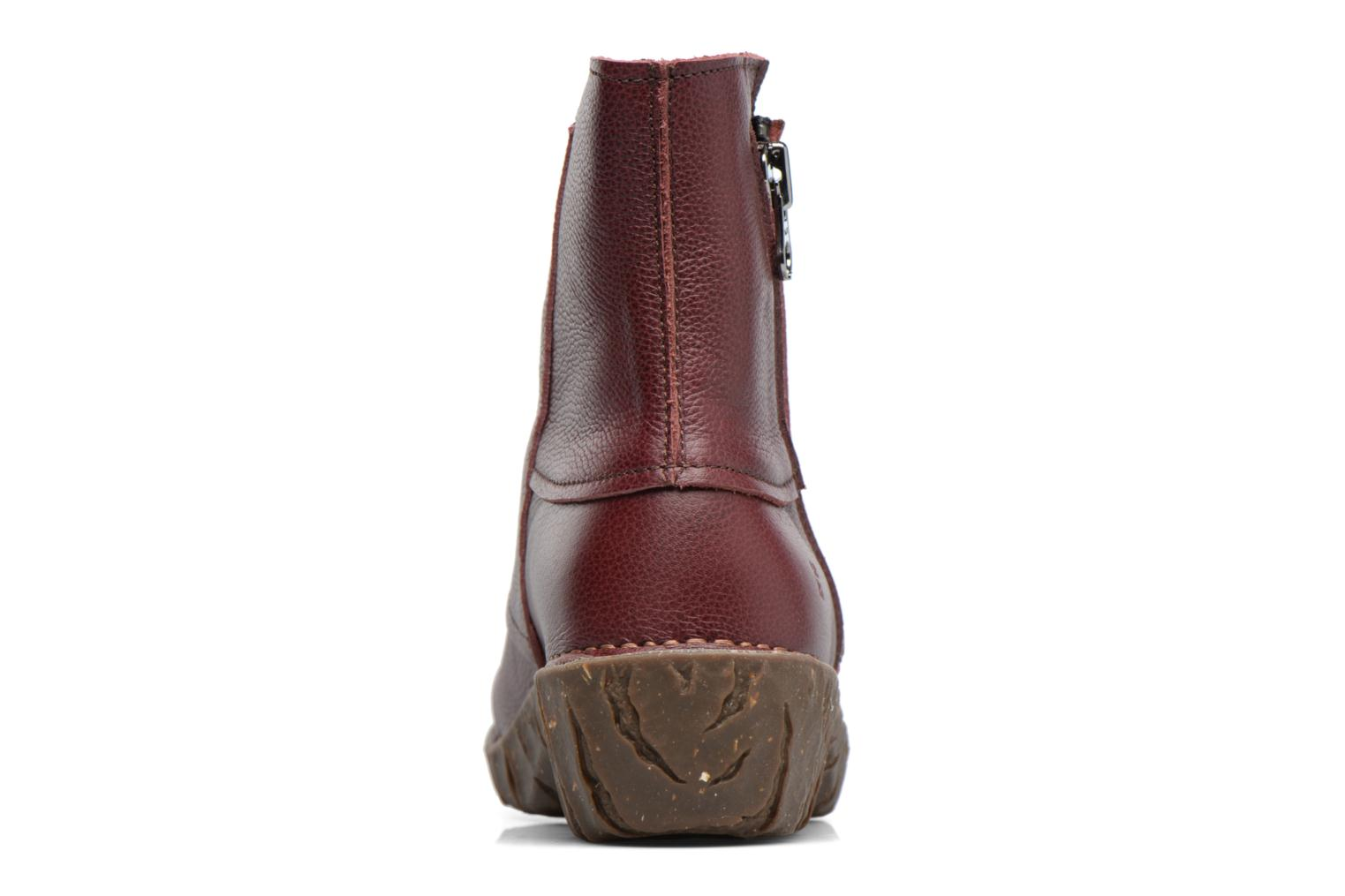 Ankle boots El Naturalista Yggdrasil NE28 Burgundy view from the right