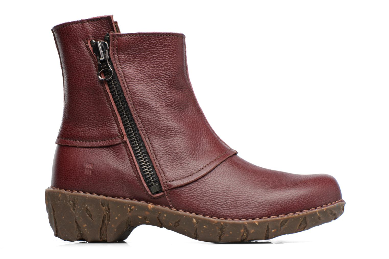 Bottines et boots El Naturalista Yggdrasil NE28 Bordeaux vue derrière