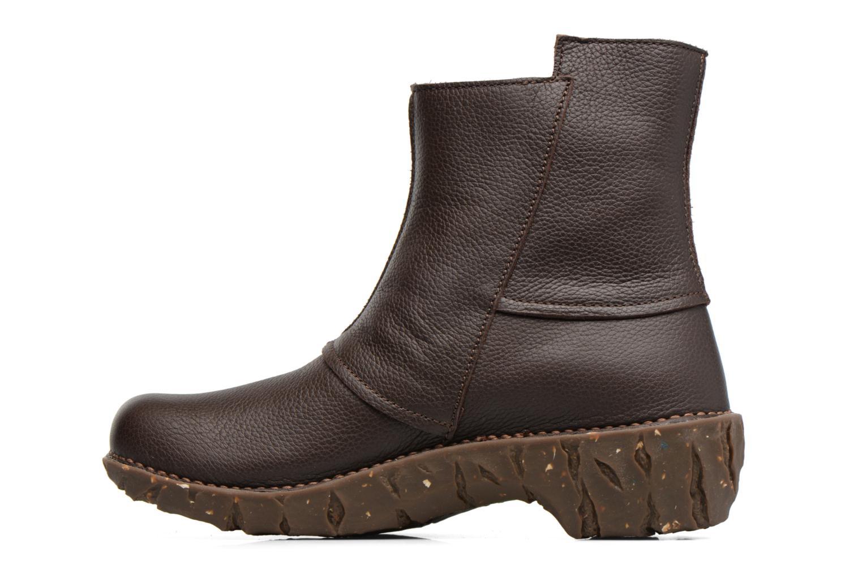 Bottines et boots El Naturalista Yggdrasil NE28 Marron vue face