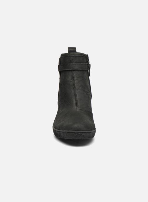 Ankle boots El Naturalista Lichen NF71 Black model view