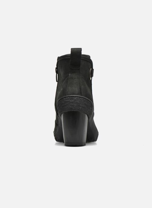 Ankle boots El Naturalista Lichen NF71 Black view from the right