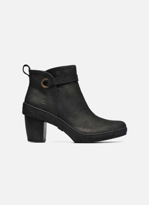 Ankle boots El Naturalista Lichen NF71 Black back view