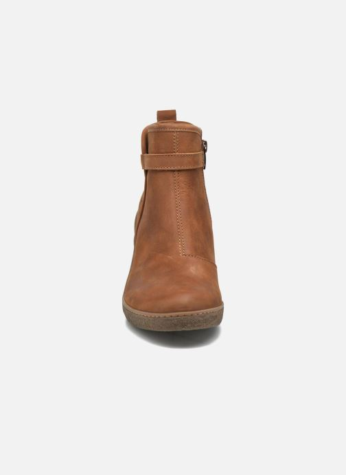 Ankle boots El Naturalista Lichen NF71 Brown model view