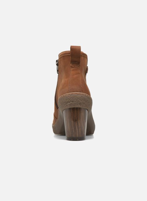 Ankle boots El Naturalista Lichen NF71 Brown view from the right