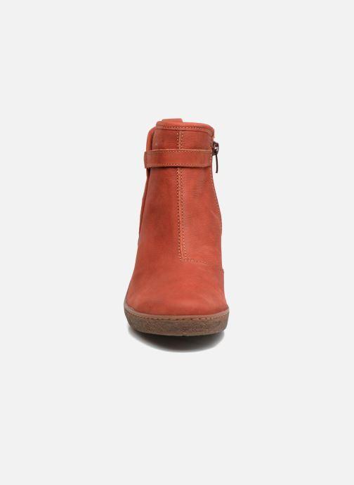 Stivaletti e tronchetti El Naturalista Lichen NF71 Rosso modello indossato