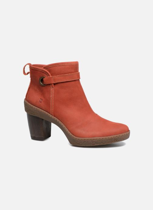 Ankle boots El Naturalista Lichen NF71 Red detailed view/ Pair view