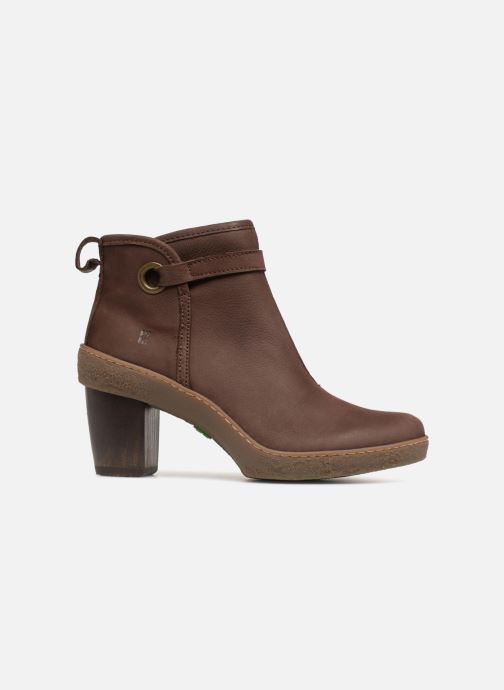 Ankle boots El Naturalista Lichen NF71 Brown back view