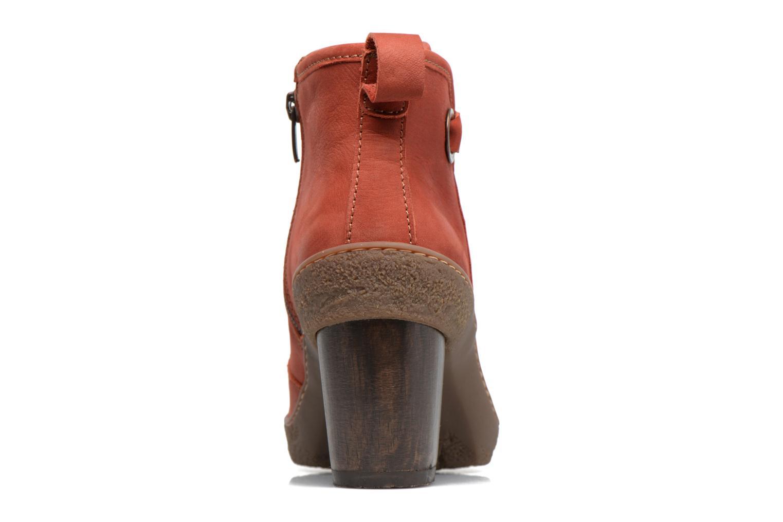Bottines et boots El Naturalista Lichen NF71 Rouge vue droite