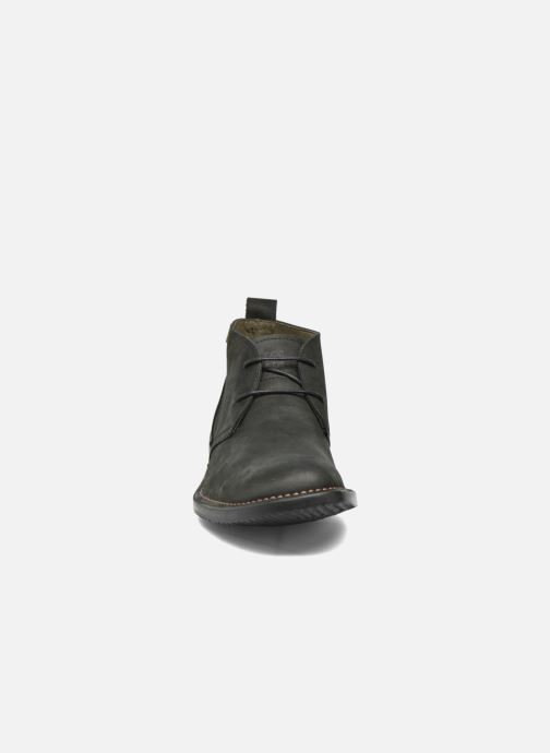 Lace-up shoes El Naturalista Yugen NG21 Black model view