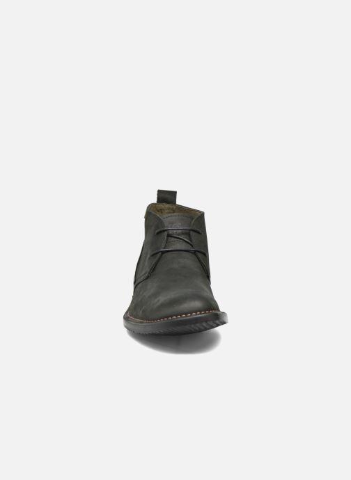 Zapatos con cordones El Naturalista Yugen NG21 Negro vista del modelo