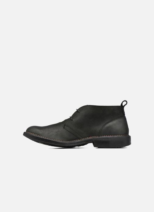 Zapatos con cordones El Naturalista Yugen NG21 Negro vista de frente