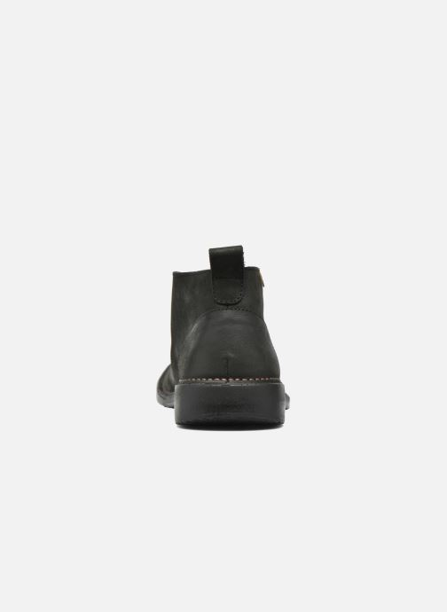 Lace-up shoes El Naturalista Yugen NG21 Black view from the right
