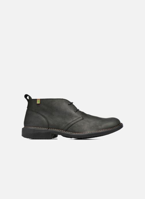 Zapatos con cordones El Naturalista Yugen NG21 Negro vistra trasera