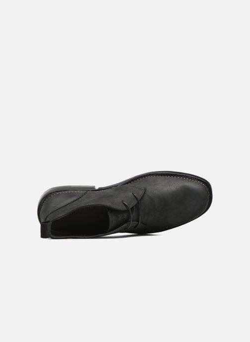 Zapatos con cordones El Naturalista Yugen NG21 Negro vista lateral izquierda
