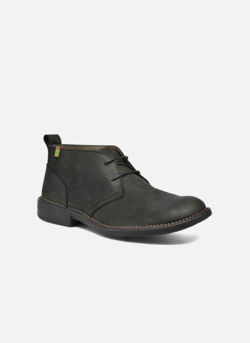 Zapatos con cordones El Naturalista Yugen NG21 Negro vista de detalle / par