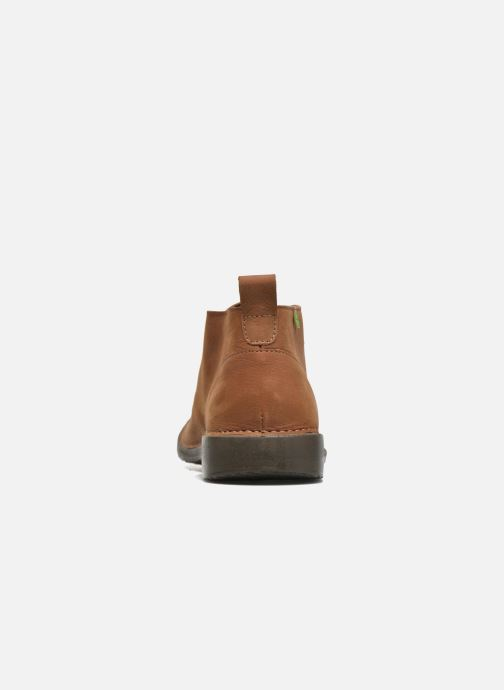 Lace-up shoes El Naturalista Yugen NG21 Brown view from the right