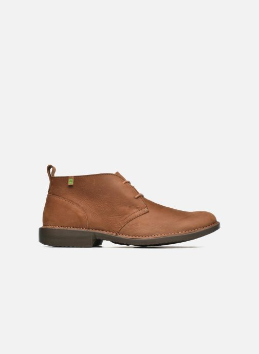 Lace-up shoes El Naturalista Yugen NG21 Brown back view