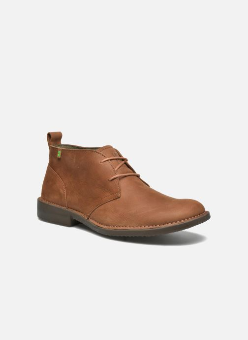 Lace-up shoes El Naturalista Yugen NG21 Brown detailed view/ Pair view