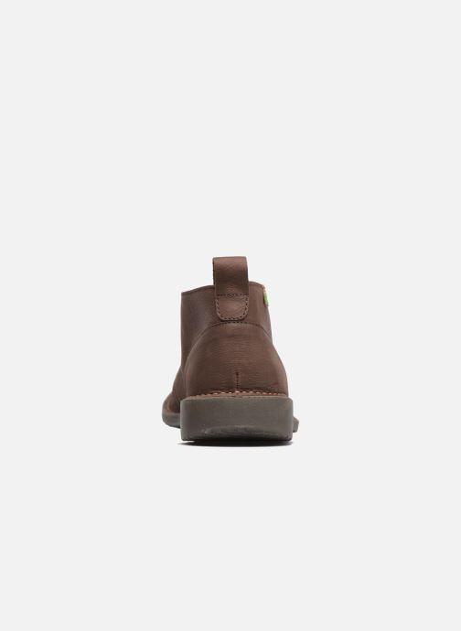 Chaussures à lacets El Naturalista Yugen NG21 Marron vue droite