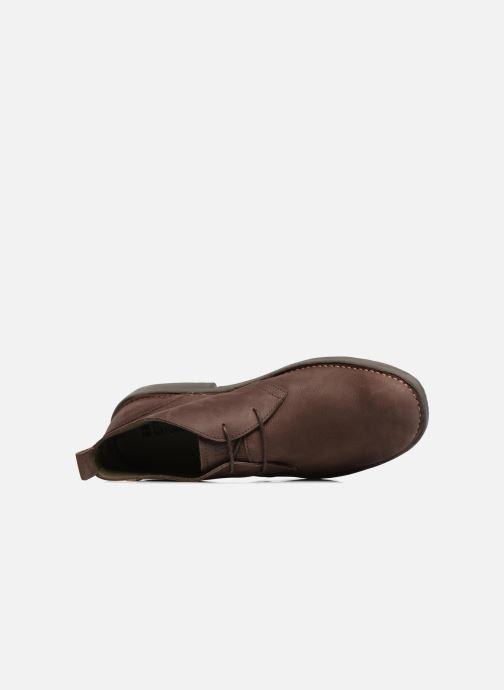 Lace-up shoes El Naturalista Yugen NG21 Brown view from the left