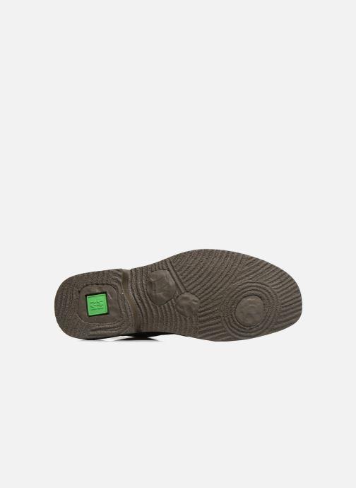 Chaussures à lacets El Naturalista Yugen NG21 Marron vue haut