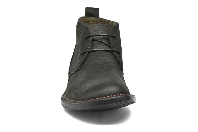 Chaussures à lacets El Naturalista Yugen NG21 Noir vue portées chaussures