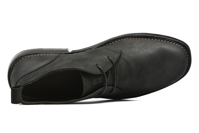 Chaussures à lacets El Naturalista Yugen NG21 Noir vue gauche