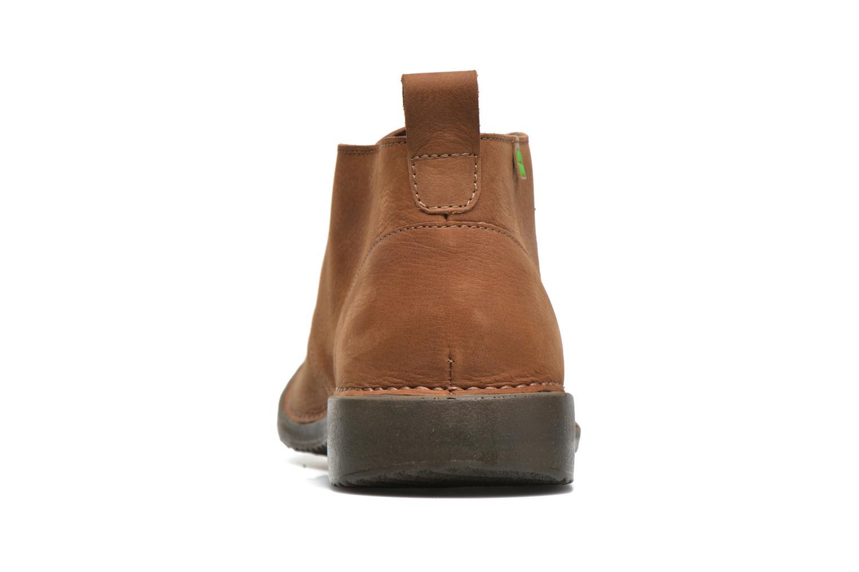 Zapatos con cordones El Naturalista Yugen NG21 Marrón vista lateral derecha