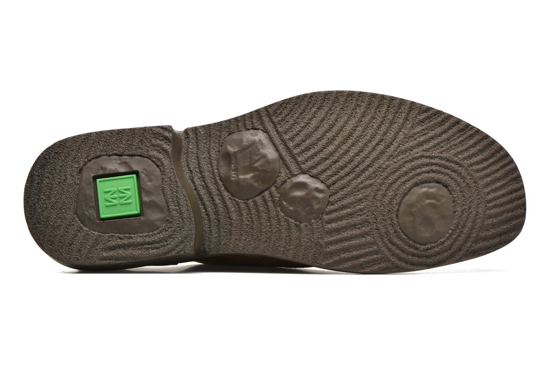 Zapatos con cordones El Naturalista Yugen NG21 Marrón vista de arriba