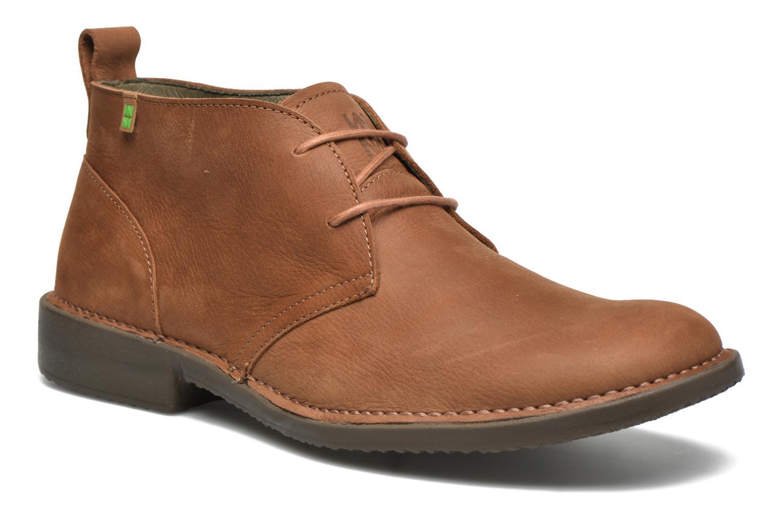 Zapatos con cordones El Naturalista Yugen NG21 Marrón vista de detalle / par