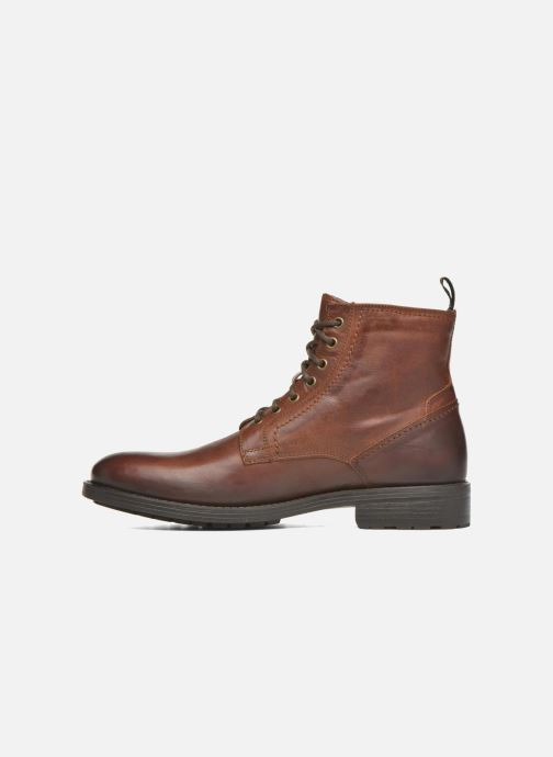 Ankle boots Marvin&co Ansi Brown front view